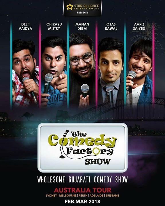 The Comedy Factory does AUSTRALIA this Feb-Mar 🇦🇺 featuring @instafunny_manan @aarizsaiyed @chirayu_m @nautankideep & yours truly 😍 Dates out soon, stay tuned!  @thecomedyfactoryindia @usf__alumni @gujjufilms @gujratifilms @gujarat_insta @usfworld  #australia #show #tour #thecomedyfactory #tcf #cantwait #excited #team #performer #foreigntour #showtour #comingsoon #letsdothis #cmon #comedian #standup #improv #love #comedy #standupcomedian #actorslife #comiclife #mumbai #ahmedabad #vadodara #surat #gujarat #india #nz #aus