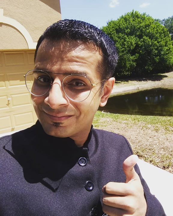 Ojas Rawal,  florida, tampa, usa, secondhome, homeawayfromhome, fl, sunshinestate, newglasses, happy, joy, morning, selfie, smile, america, trip, glasses, traveldiaries, OjasRawal, actor, comedian, ready, happiness, iloveflorida, home, homecoming, style, gold, golden, spectacles, tampabay
