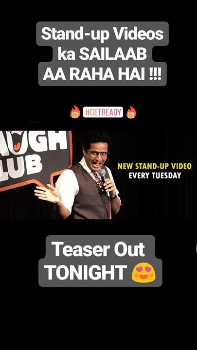 Teaser Coming Out TONIGHT! The Comedy Factory Canvas Laugh Club, Mumbai Canvas Laugh Club