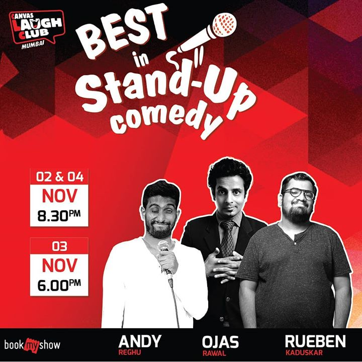 MUMBAI ! Come, have a hilarious weekend 😎 Tag your Mumbai friends! Performing at the mecca i.e. Canvas Laugh Club's