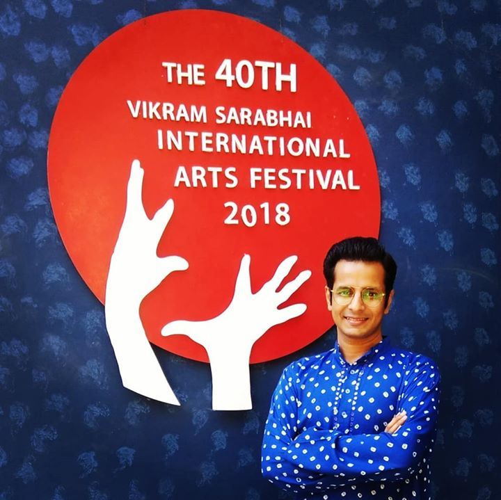 Fortunate to be a part of this prestigious International Arts Festival 🎭 at the Natarani Amphitheatre, Darpana Academy of Performing Arts. Acted in the Urdu play