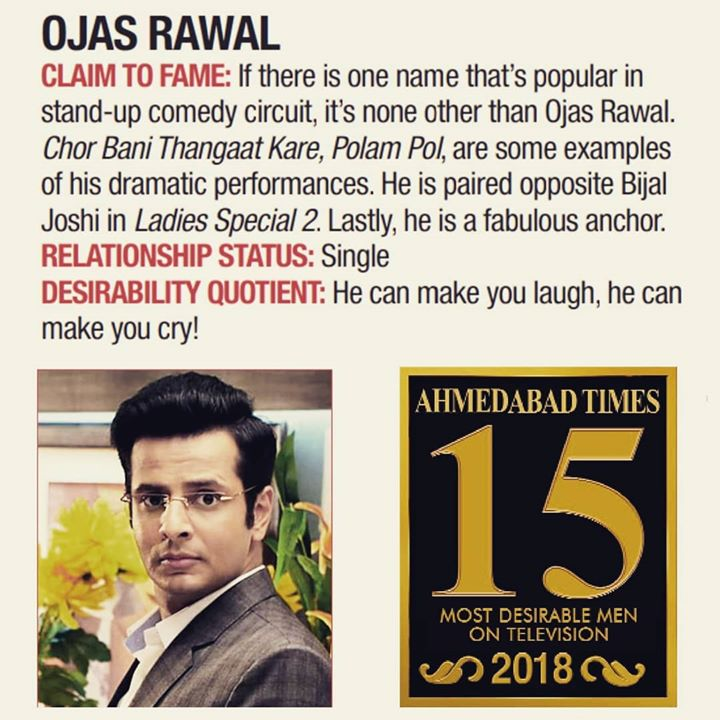 LOVE that last line! 💓 Thank You, Ahemdabad Times for enlisting me in 2018's