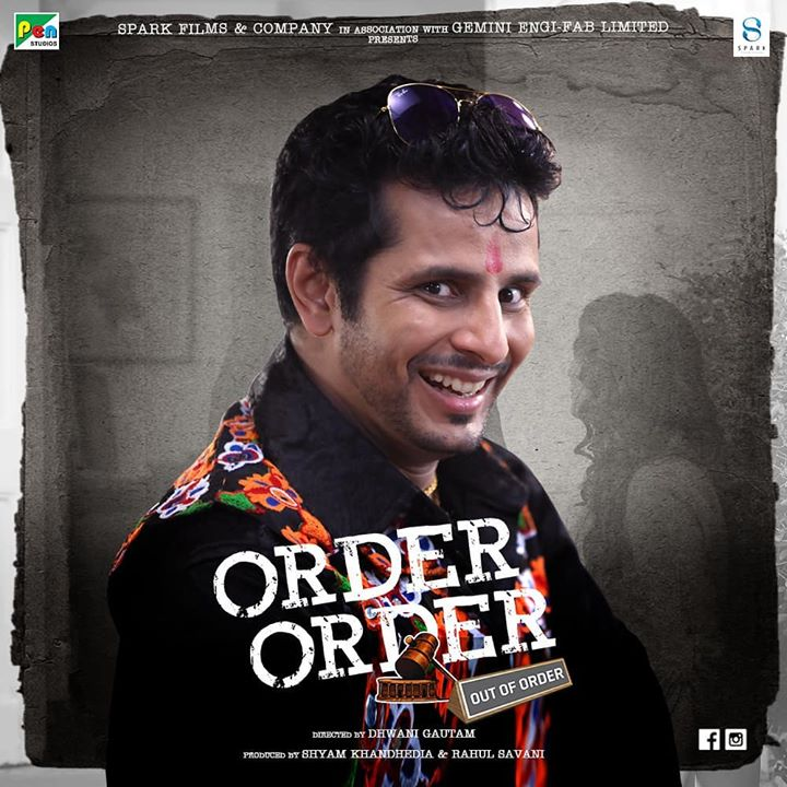 Ojas Rawal,  OrderOrderOutOfOrder, O5, OjasRawal, actor, comedian, newfilm, gujarati, ojas, comedy, newlook, new, characater, crazy, fun, kickass, whacky, funny, gujaratimovie, comingsoon, friday, february, gujarat, indian, india, mumbai, orderorder, gujju, film, hilarious, movie
