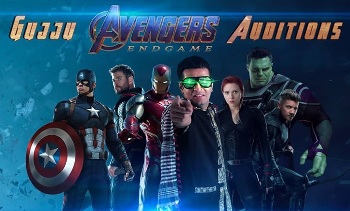 Get Ready for the HILARITY! Gujarati meets Avengers 😎 Coming soon! by The Comedy Factory @thecomedyfactoryindia 🤘 #TheComedyFactory #new #video #Avengers #avengersendgame #funny #hilarious #hollywood #endgame #tcf #captainamerica #marvel #marvellegends #captainmarvel #tonystark #hulk #antman #ironman #thor #blackwidow #marvelstudios #OjasRawal #ojas #comingsoon #trending #superhero #superheroes #movie #marvelmovies #avengersassemble