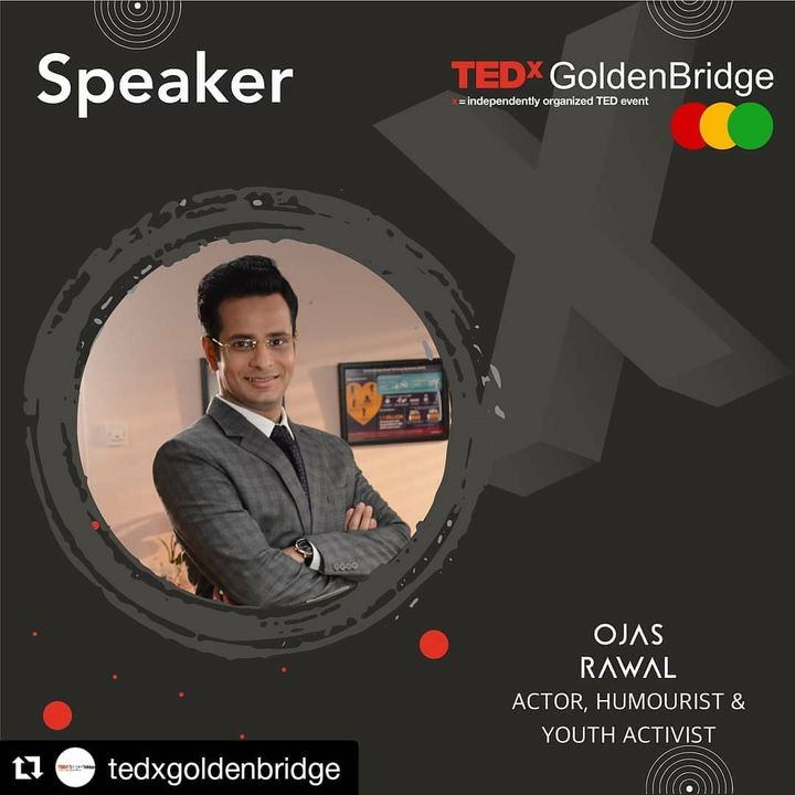 Repost @tedxgoldenbridge ✅ Introducing our sixth speaker : Ojas Rawal is an eminent actor, writer and director for films, television & theatre. He is also a renowned emcee, stand-up comedian, improv artist & quizmaster with performances worldover. He lends his voice to many cartoons, ads and documentaries, and dubs for regional & foreign films in various Indian languages. Ojas has an Honours Degree in BioMedical Sciences, Business Administration, Public Health & BioMedical Engineering from the University of South Florida, USA. There he formulated & taught two Honours courses and wrote for The Oracle newspaper. Twice, he served as USF's Global Ambassador to India. Since 2005, he works with Mumbai's US Consulate on initiatives strengthening bilateral Indo-US relations with emphasis on education. As Chief Advisor for Interact Model United Nations as well as former President of the western & central India regions of Leo Clubs International, he passionately conceptualizes and conducts projects focusing on youth enrichment & leadership development. . ▶️ Stay Tuned for details . #OjasRawal #tedx #tedxgoldenbridge #tedxtalks #tedxspeaker #tedxwomen #tedxtalk #tedxyouth #ted #tedtalk #goldenbridge #motivationalspeaker #speaker #publicspeakers #keynotespeaker #youthempowerment #youthdevelopment #youngminds #youthforum #voiceofindia #tedtalks #worldpeople #motivation #connectingpeople #takingovertheworld #activist #education #inspiration #youth #empowerment @usouthflorida @usf__alumni @usforacle @casatusf @usfhonors @usfstudentgov @usfworld @usconsulategeneralmumbai @tedx_official @ted @tedxindia