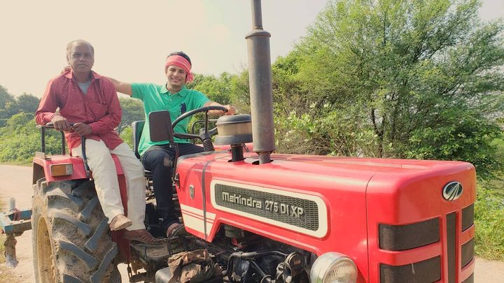 Ojas Rawal,  NewExperiences, actorlife, tractor, ride, farmlife, farmer, OjasRawal, hindi, gujarati, webseries, tractors, tractorlife, tractorride, farming, farms, farmfun, country, countryside, countrysidelife, countrylife, countrylifestyle, countryroads, farmers, farmerlife, villagelife, village, acting, filmmaking, actorslife, ojas