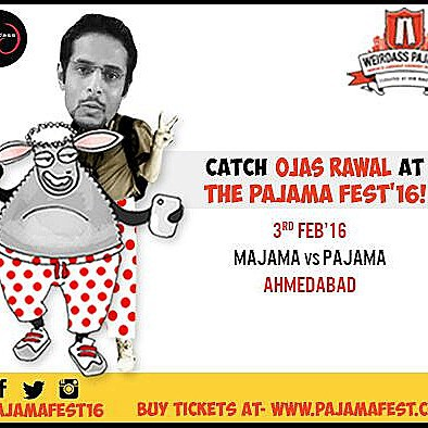 Performing at Vir Fas' Weirdass Pajama Fest 2016! Ahmedabad! 3rd Feb!  Tickets on www.pajamafest.co.in #weirdasspajama
