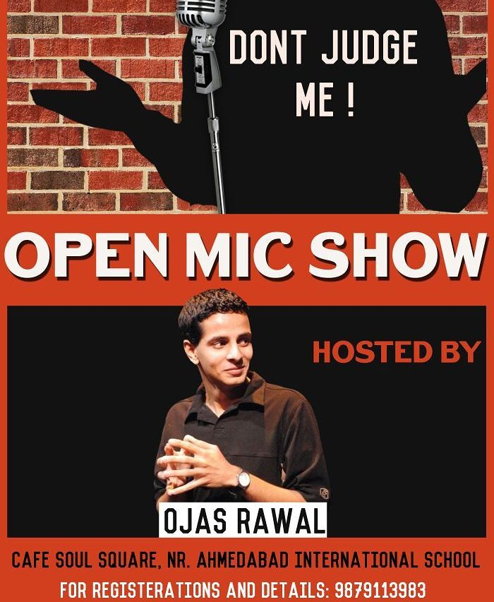 Ahmedabad TONIGHT! Hosting The Comedy Factory's Open Mic show! Come watch the new comics test their funny bone! 👅🃏📣 #comedian #openmic #gujarat #gujarati #films #Ahmedabad #standupcomedy #jokes #fun #funny #improv #comedy #humor #showbiz #show #stage #enjoy #awesome #excited #lol #look #likeforlike #like4like #tag #likes #instapost #instapose #instaclick #tcf #talent  @instafunny_manan @vidyajanakiraman @chirayu_m @nautankideep @aarizsaiyed @neelakshmathur @kuchbhimehta @thecomedyfactoryindia @scoopwhoopinsta @buzzfeedindia
