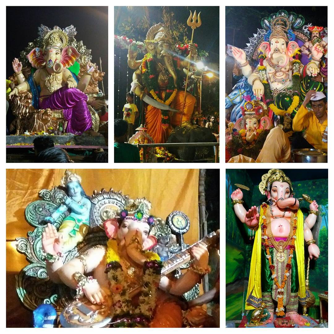 And Ganesh, the elephant headed god, wishes farewell to Mumbai... 🐘 until next year! 🙏 @ the beach of the city that never sleeps!  #ganesh #ganpati #visarjan #ganesha #shiva #hindu #india #mumbai #gujju #gujarati #hinduism #god #beach #ocean #people #festival #fun #crowd #sculpture #elephant #elephants #spiritual #faith #statue #ganpativisarjan #ganeshvisarjan #art #bappa #ganpatibappamorya #ganpatibappa