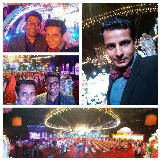 What a #MerryChritmas !!🎄 Hosting wedding sangeet at the beautiful NSCI Dome, Mumbai with the amazing @instafunny_manan 😎 from The Comedy Factory 🎉  @nscimumbai @thecomedyfactoryindia #mumbai #party #sangeet #wedding #xmas #merryxmas #xmasparty #comedians #comiclife #party #lights #decoration #bowtie #stage #performance #entertainment #hosting #actorslife #anchor #emcee #gujju #gujarati #love #friends #weddingplanning #excited #event #comedy #beautiful