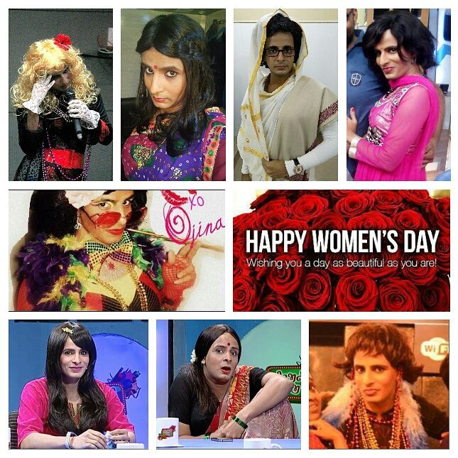 Women.👸 Respect them. Love them. Celebrate them. Through actions, words, art... Happy Women's Day! 💝  #women #respect #love #art #celebrate #happywomensday #2017 #sheisbeautiful #internationalwomensday #womensday #girls #woman #girl #she #gujarat #mumbai #india #costume #makeup #drag #role #actor #wig #television #actorslife #entertainment #comiclife #comedy #gender #genderequality