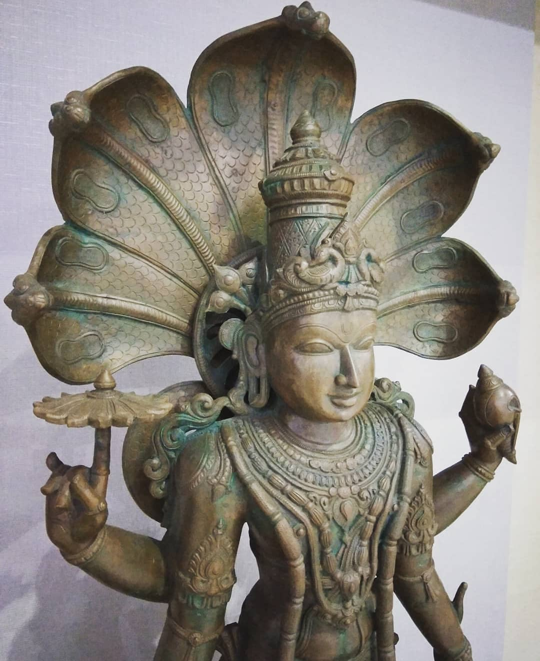 Ojas Rawal,  antique, statue, mumbai, bronze, vishnu, hindu, mythology, myth, lord, god, art, sculpture, snake, naga, krishna, hinduism, religion, myth, history, culture, india, incredibleindia, indiagram, indianart, idol, divine, artwork, antiques, handicraft, sculptureart