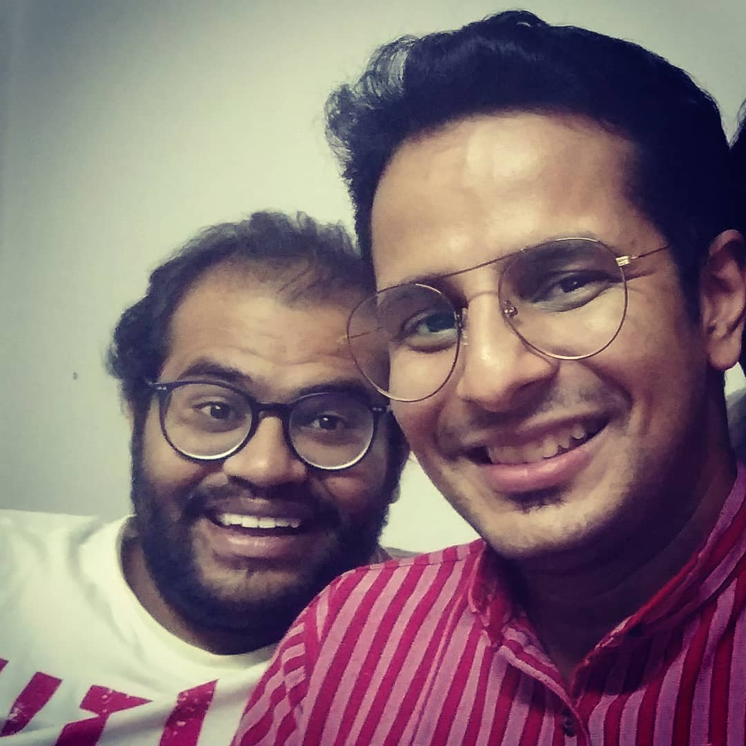 HAPPY BIRTHDAY to my most irritating yet contagious, stubborn yet caring, and crude yet hilarious friend and actor HEMIN TRIVEDI @hemin_hht143 🎂 May