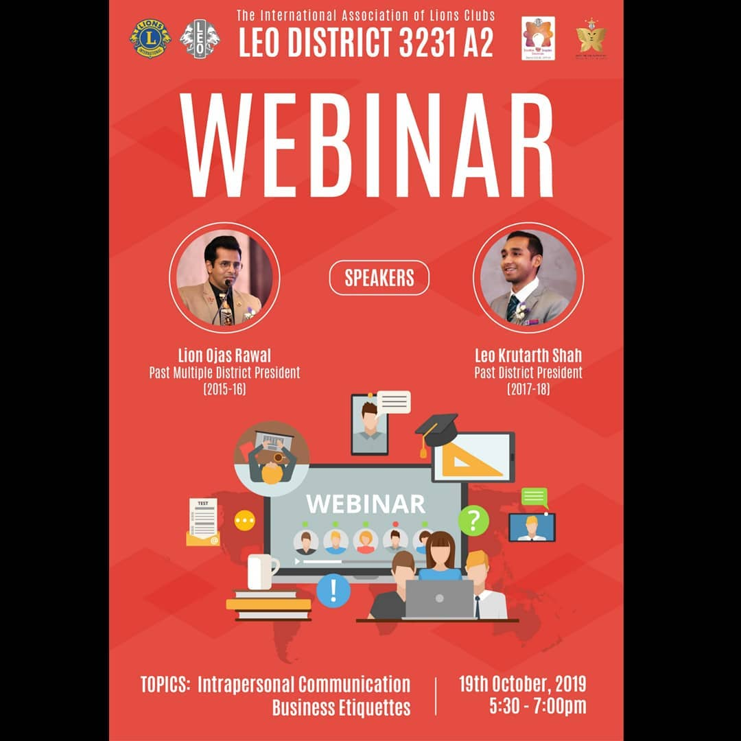 Ojas Rawal,  webinar, communication, skills, web, seminar, youth, development, program, leoclubs, lionsclubsinternational, lci, OjasRawal, ojas, speaker, mentor, talk, leoclub, training, youngminds, workshop, trainer, coaching, teaching, online, internet, event, education, students, course, initiative