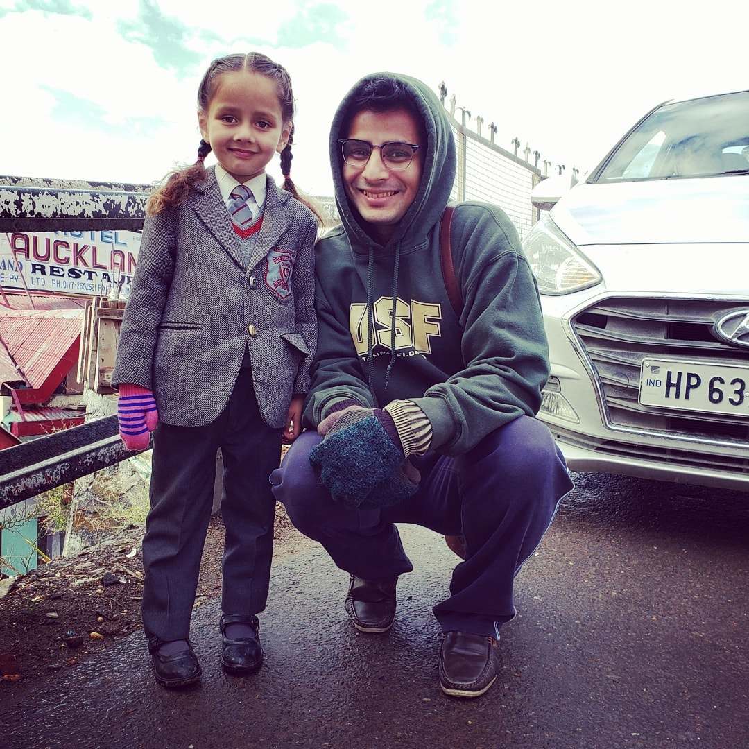 Ojas Rawal,  ShimlaDiaries, shimla, himachalpradesh, littlegirl, student, uniform, morning, smiling, himachaldiaries, india, OjasRawal, actor, lilgirl, school, schoolgirl, schooluniform, schoollife, schooltime, cute, girl, hp, himachal, ojas, winter, coldmornings, feelingcold, usf, schoolmemories, ilovehimachal, traveldiaries