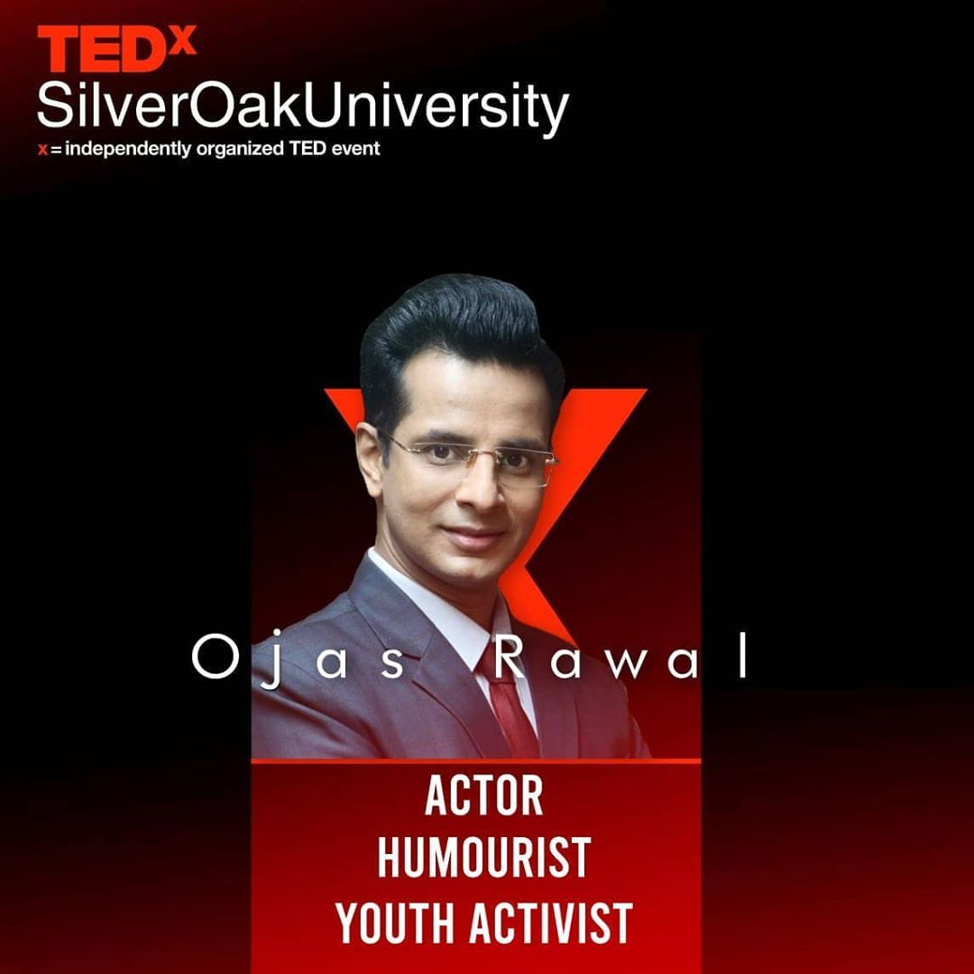 Repost @tedxsilveroakuniversity ✅ Ojas Rawal is an eminent actor, writer and director for films, television & theatre. He is also a renowned emcee, stand-up comedian, improv artist & quizmaster with performances worldover. He lends his voice to many cartoons, ads and documentaries, and dubs for regional & foreign films in various Indian languages. Ojas has an Honours Degree in BioMedical Sciences, Business Administration, Public Health & BioMedical Engineering from the University of South Florida, USA. There he formulated & taught two Honours courses and wrote for The Oracle newspaper. Twice, he served as USF's Global Ambassador to India. Since 2005, he works with Mumbai's US Consulate on initiatives strengthening bilateral Indo-US relations with emphasis on education. As Chief Advisor for Interact Model United Nations as well as former President of the western & central India regions of Leo Clubs International, he passionately conceptualizes and conducts projects focusing on youth enrichment & leadership development. . ▶️ Stay Tuned for details  . #OjasRawal #TEDx #speaker #silveroakuniversity #youth #ideasworthsharing #tedxtalk #tedtalk #tedxspeaker #tedtalks #motivationalspeaker #actor #ojas #publicspeaker #motivation #inspiration #empowerment #tedxindia #tedxyouth #events #mumbai #gujarat #india #ahmedabad #vadodara #surat #rajkot #yuva #activist #education @usouthflorida @usf__alumni @usforacle @casatusf @usfhonors @usfstudentgov @usfworld @usconsulategeneralmumbai @tedx_official @ted @tedxindia