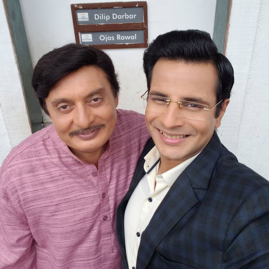 Ojas Rawal,  HappyBirthday, DilipDarbar, OjasRawal, ladiesspecial, hindiserial, sony, tv, india, mumbai, shootdiaries, behindthescenes, bts, actors, shooting, smiles, selfie, selfietime, gujarati, gujju, memories, optimystix, sonytv, greenroom, lovethisguy, happy, birthday, birthdaywishes, goodtimes, funtimes, nostalgia
