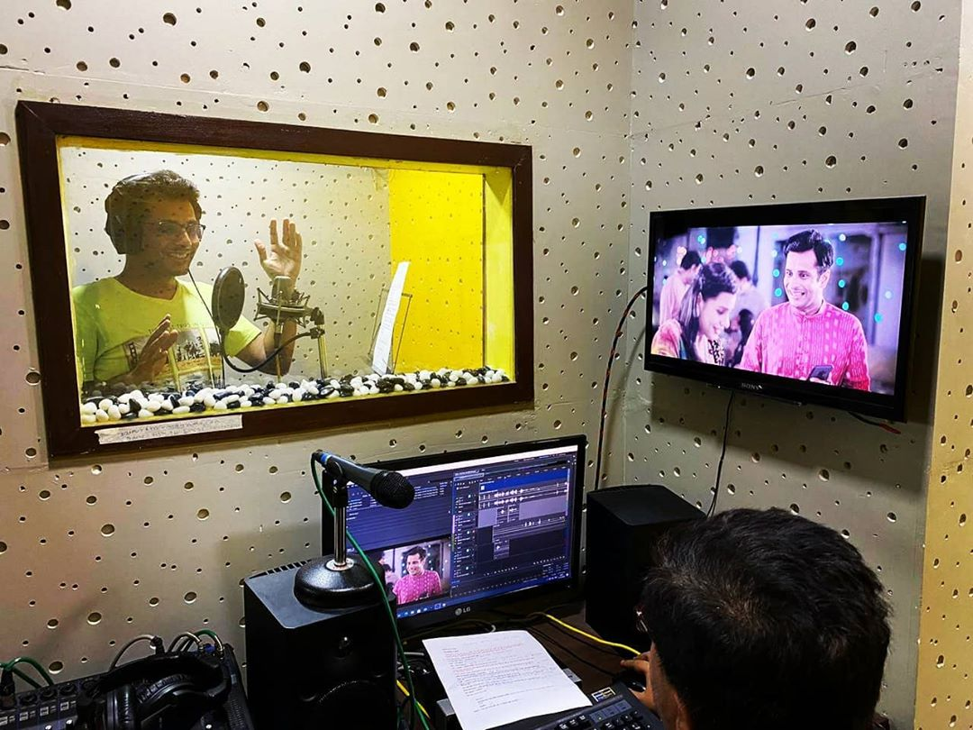 Dubbing for a beautiful Ad film🎙I'll be sharing it here tomorrow 🤓  . #dubbing #studio #ad #film #OjasRawal #tvc #working #artist #actor #voiceover #acting #gujarati #gujarat #gujju #voice #mic #sound #recording #lovemywork #lovemyjob #workisfun #goodtimes #funtimes #advertisement #adagency #mumbai #ojas #commercial #atwork #happyme