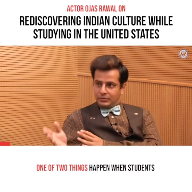 #Repost @USConsulateGeneralMumbai ・・・ How do you stay connected with your roots while studying in the United States?  Actor Ojas Rawal shares his experiences in the latest episode of Charcha-Cast. WATCH THE FULL EPISODE ONLINE #StudyInTheUS  P.N. This video was filmed before the COVID-19 pandemic. . #USConsulate #Mumbai #OjasRawal #interview #university #educationusa #usa #usconsulatemumbai #undergrad #students #connected #roots #indianculture #indianstudents #desistudent #highered #studentaffairs #college #education #usfalumni #gobulls #studyabroad #campuslife #unilife #collegelife #studentlife #stayhome #staysafe