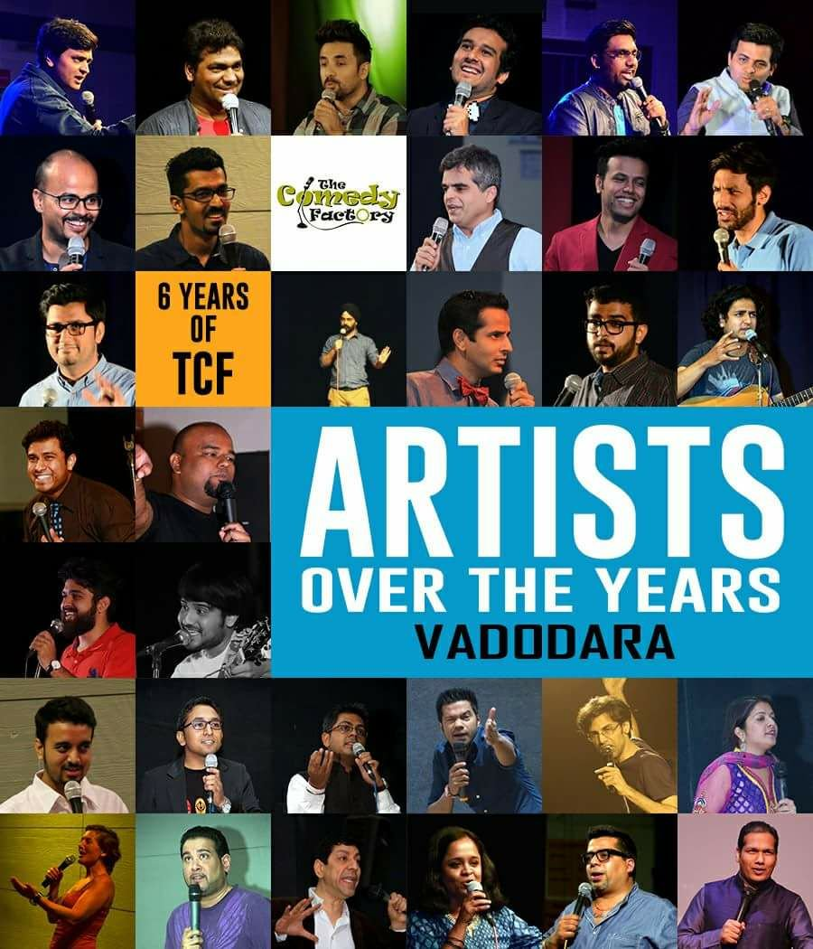 Glory be to #VADODARA, the birthplace of @ComedyFactoryIn 😇 Endless #Love n #Respect 😍 HAPPY 6th #BIRTHDAY to The #Comedy Factory! #Gujarati https://t.co/bGmLBQbx5y